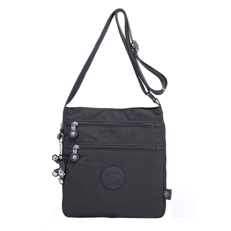 TEGAOTE Umh/ängetasche Damen Schultertasche Erweiterbare L/ässige Kuriertasche Leicht Taschen Vintage Reisetasche Mode Strandtasche Design Sporttasche f/ür M/ädchen B/üchertasche