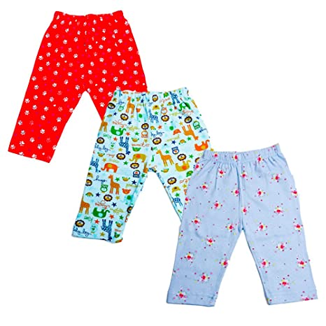 546ec28e9 Baybee Premium Quality Baby Cotton Pajamas Leggings with Free Bottom ...