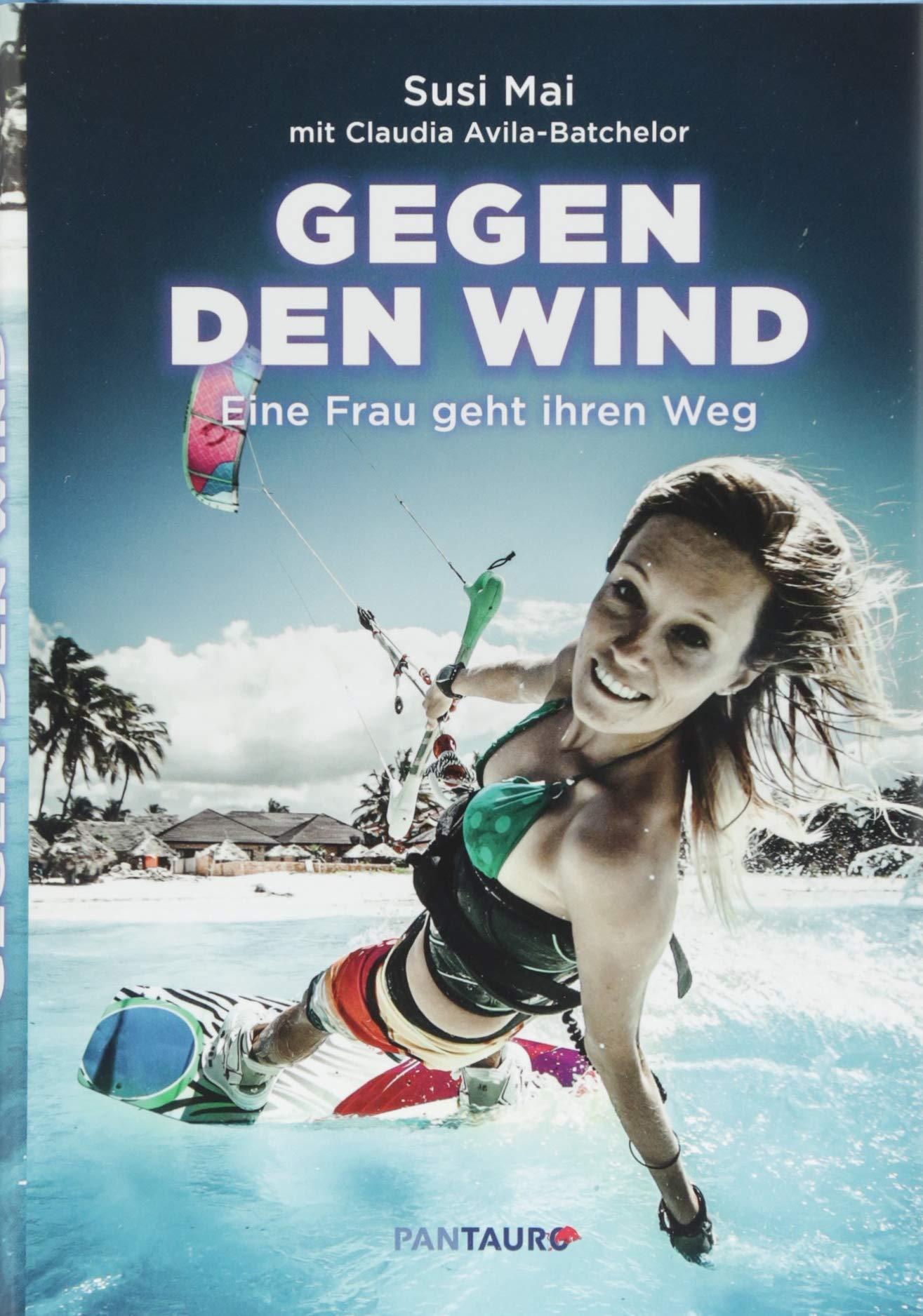 Gegen den Wind: Eine Frau geht ihren Weg