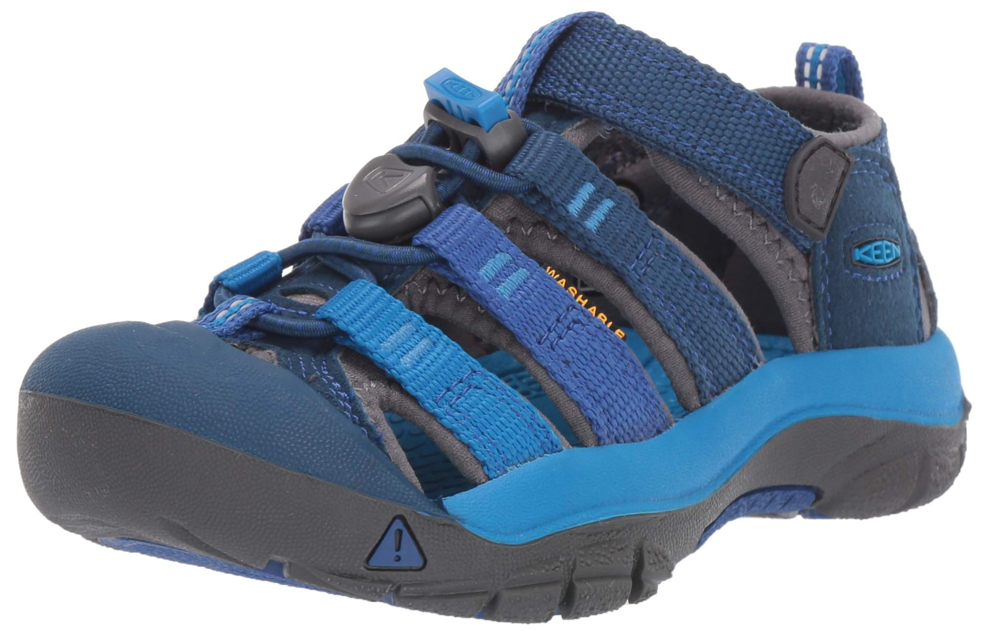 Keen Unisex Newport H2 Water Shoe Opal/Vibrant Blue, 12 M US Little Kid