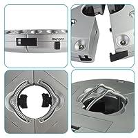 SOAIY® Lampe pour Parasol de 28 LEDs avec 3 Niveaux d'Éclairage Lampe Extérieure pour Parasol / Tente / Arbre / Camping / BBQ