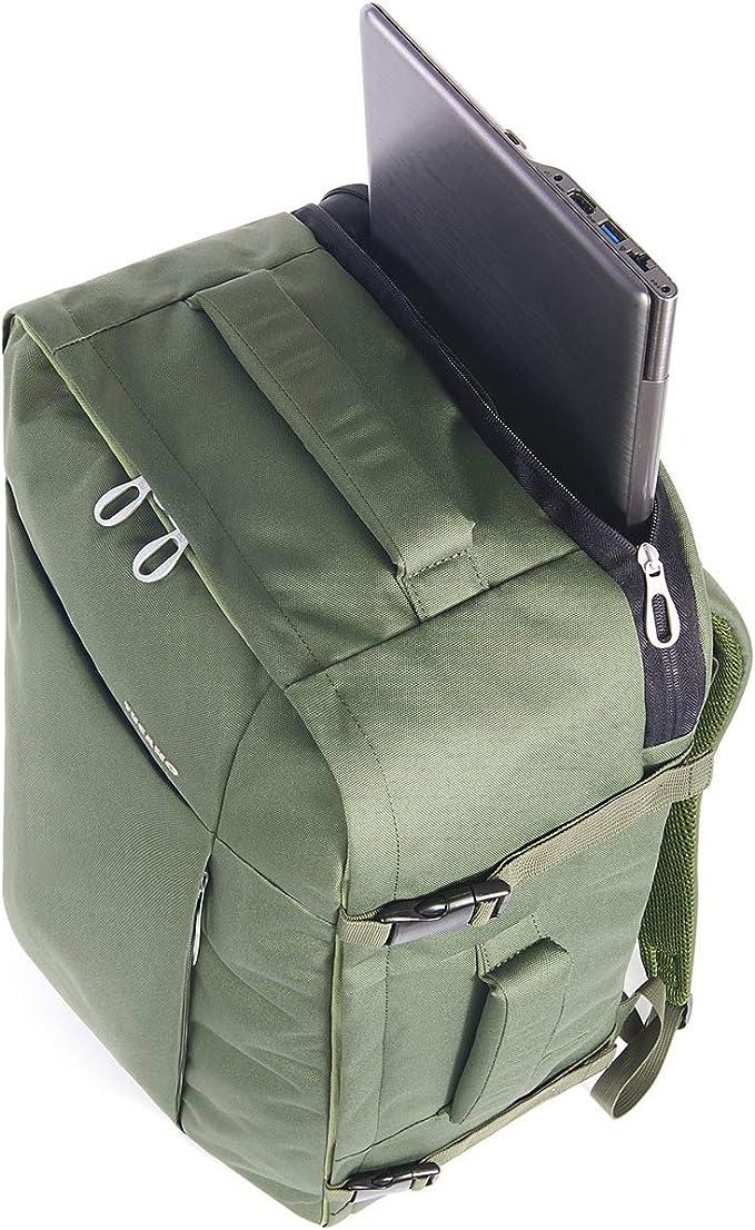 Tucano Tug/ò Sac /à Dos Vert Sacs /à Dos , Poche arri/ère, Poche Frontale, Fermeture /à glissi/ère, 300 mm 15.6 Vert, Uniforme, 39,6 cm