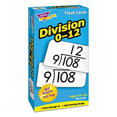 Skill Drill Flash Cards, 3 x 6, Division: Office Products