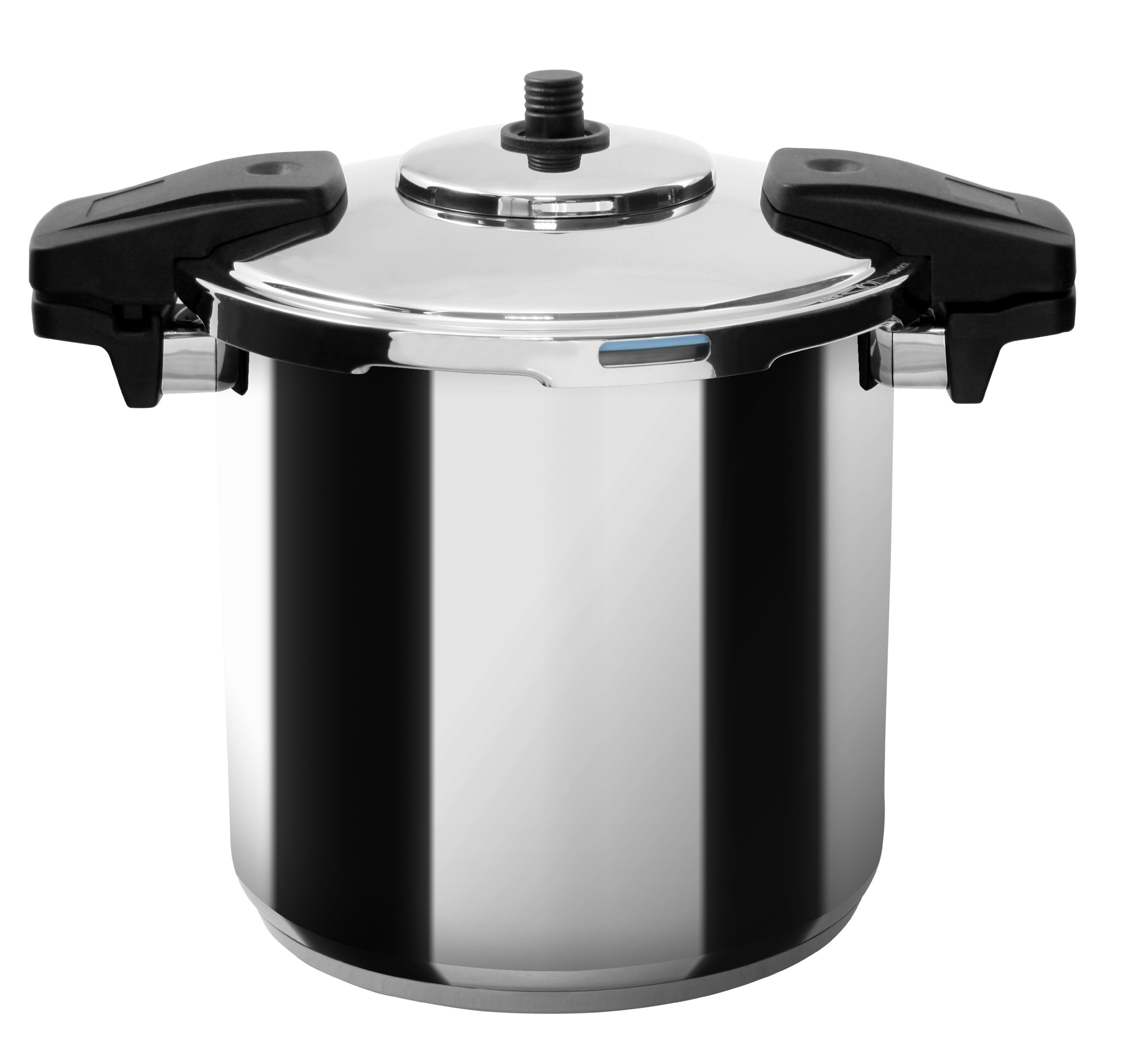 MIU France Stainless Steel Professional 8-Qt. Pressure Cooker, Silver