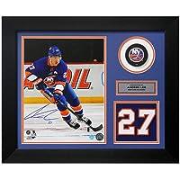 $149 » Anders Lee Signed Jersey - Franchise Number 20x24 Frame - Autographed NHL Jerseys