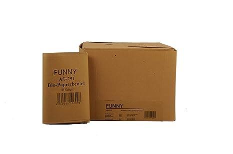 Semy AG-791 - Pack de 300 bolsas de papel ecológico, 10 l, color ...