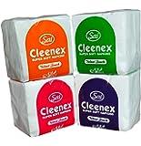 Cleenex Tissue Paper Napkins 100 pieces(Pack of 4)