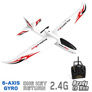 VOLANTEXRC RC Glider Plane Remote Control Airplane Ranger600 Ready to Fly,  2 4GHz Radio Control Aircraft with 6-Axis Gyro Stabilizer, One-Key Return