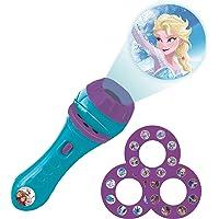 Lexibook Disney, Frozen-Linterna de bolsillo con proyector 3