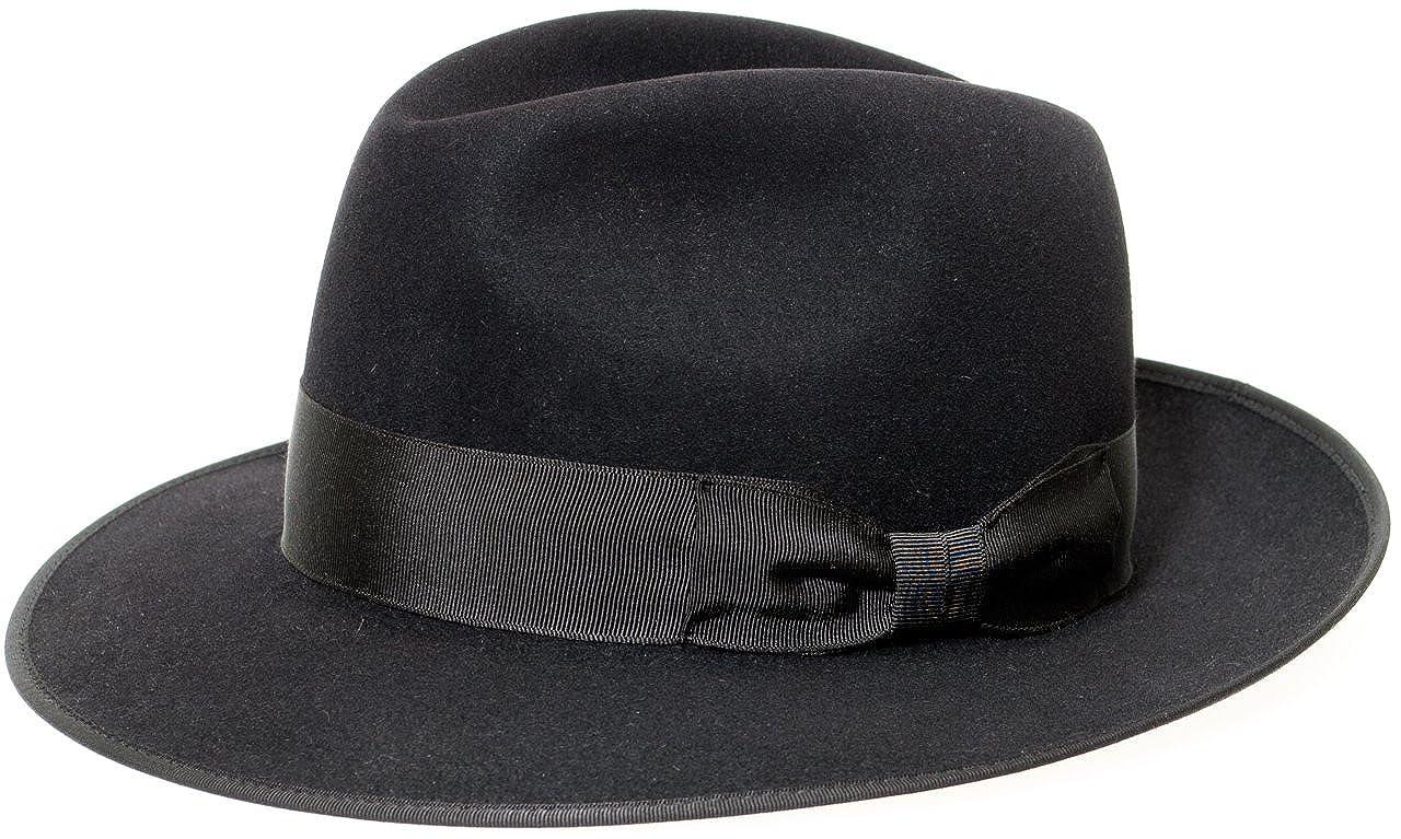 216cd93e24b Akubra Hats Women s Fedora Hat black black - black -  Amazon.co.uk  Clothing