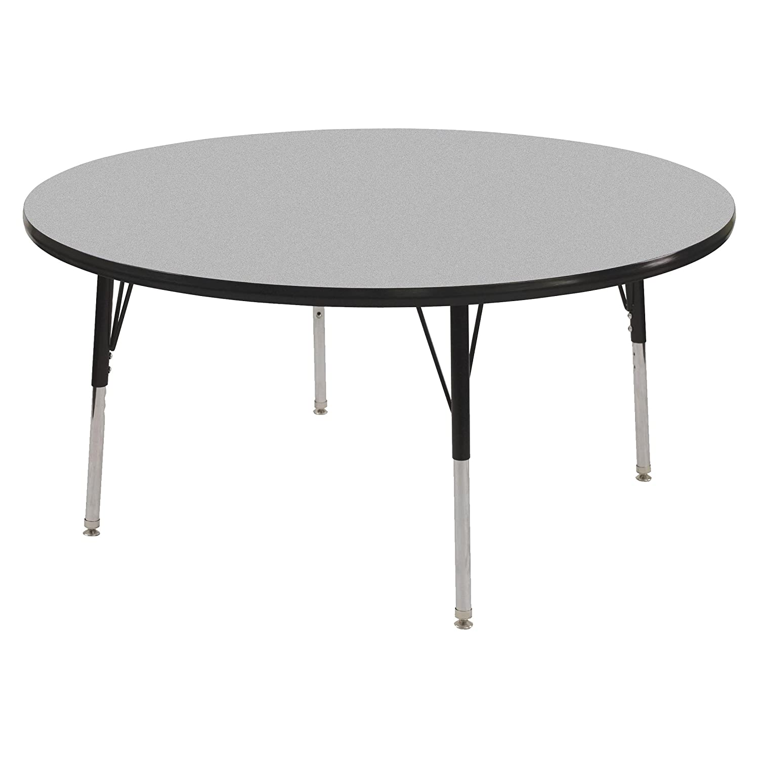"Amazon ECR4Kids T Mold 48"" Round Activity School Table"