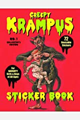 Creepy Krampus Sticker Book No.1: 72 Reusable Stickers for Naughty Girls & Boys of All Ages Paperback