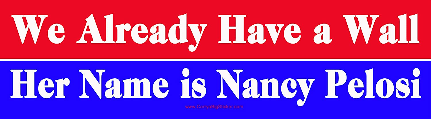 : We Already Have a Wall Her Name is Nancy