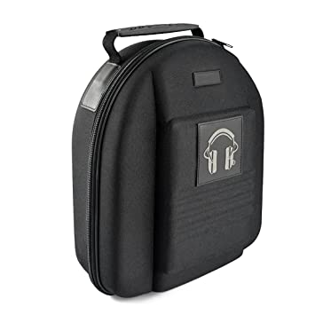 Travel Bag with Space for Cable AMP, Headphones Full Size Hard Carrying Case