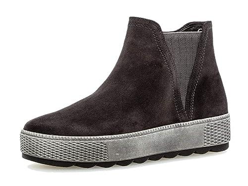Gabor Chelsea Wechselfußbett Boots optifit comfort Damen StiefelettenFrauen reißverschluss Mehrweite v0my8NnOw