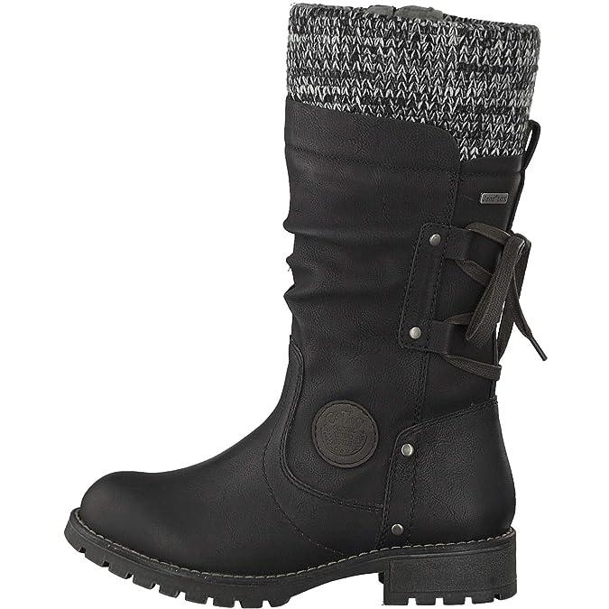 Amazon Zapatos Mujer es Jana 8 Botines 26438 001 8 21 y para 8F81wqO