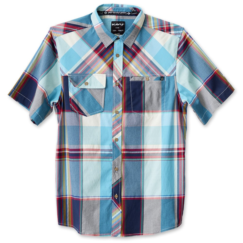 KAVU Mens Boardwalk Button Down Shirts