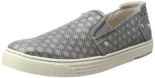 Mustang 1246-401-2, Mocasines para Mujer, Gris (2 Grau), 36 EU: Amazon.es: Zapatos y complementos