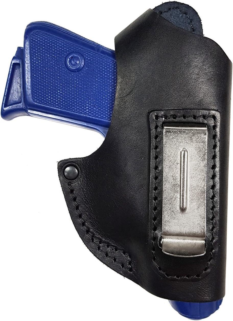 VlaMiTex IWB 1-1 Funda para pistola Walther PPK, para llevar por dentro/fuera del pantalón, de piel
