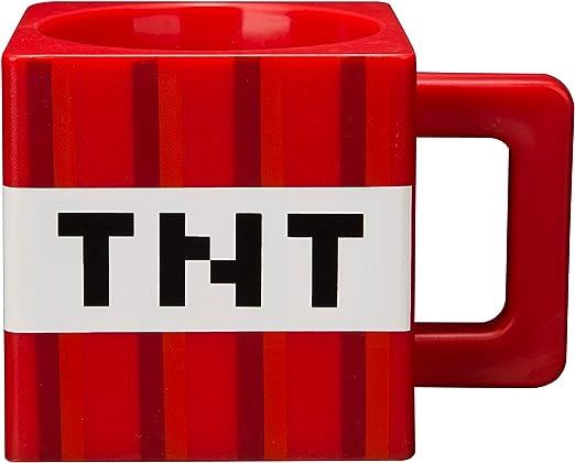 Amazon.com: Jinx Minecraft TNT taza de plástico (9.8 ounces ...
