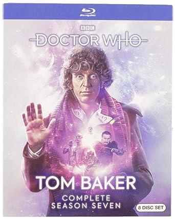 Doctor Who: Tom Baker - Complete Season Seven Edizione: Stati Uniti Italia Blu-ray: Amazon.es: Tom Baker, Lalla Ward, Matthew Waterhouse, Sarah Sutton, Janet Fielding, Anthony Ainley, John Leeson, Laurence Payne, Jacqueline Hill,