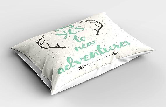 Amazon.com: Ambesonne - Funda de almohada con diseño de ...