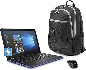 HP Marine Blue Laptop Bundle, 15.6