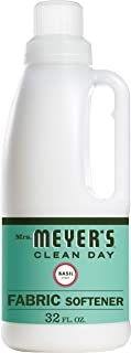 product image for Mrs. Meyer's Clean Day Liquid Fabric Softener, Made Without Parabens, Cruelty Free Formula, Basil Scent, 32 oz