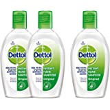 Dettol Sanitizer - 50 ml (Buy 2 Get 1 Free)
