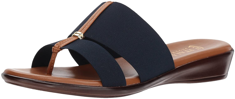 ITALIAN Shoemakers Women's Milla Slide Sandal B079H7LP53 9.5 M US|Navy