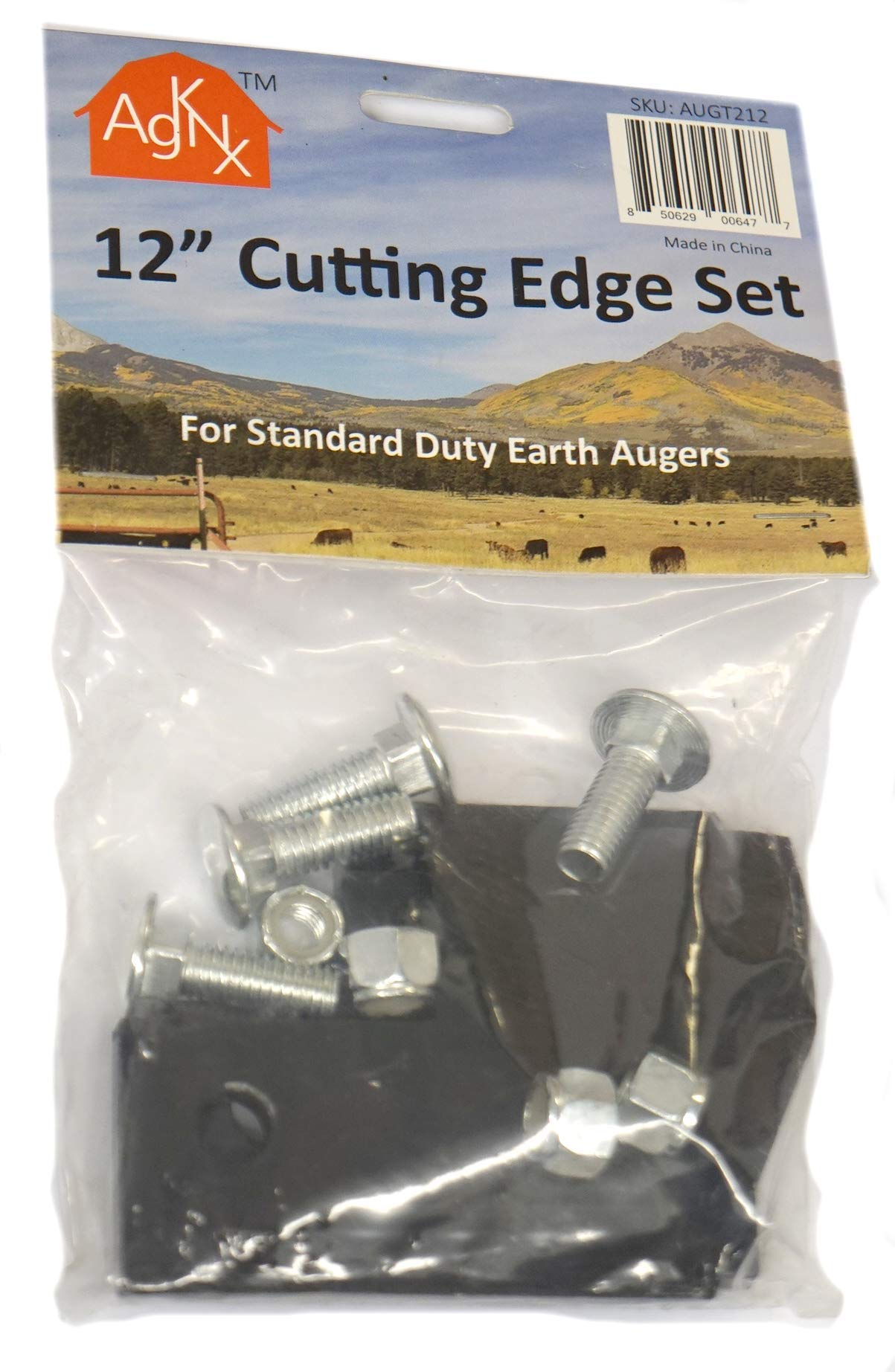 Replacement Cutting Edge Blade Set for 12'' Standard Duty Earth Augers by ToolTuff