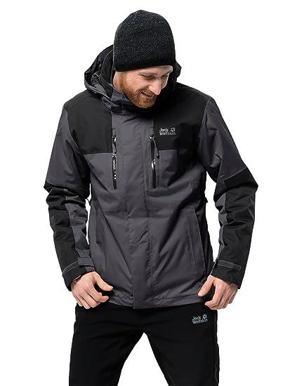 701b01e947 Amazon.com: Jack Wolfskin Men's Jasper 3-in-1 Jacket: Clothing