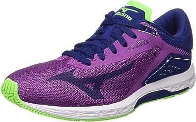 Mizuno Wave Sonic Wos, Zapatillas de Running para Mujer: Amazon.es: Zapatos y complementos