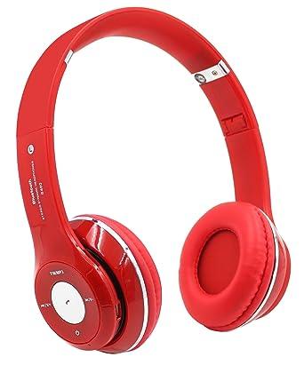 S460 inalámbrica Bluetooth estéreo de auriculares in-ear con micrófono para teléfono móvil iPhone Samsung
