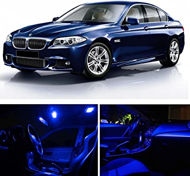 E34 White LED Interior lighting kit 14x BMW 5 Series