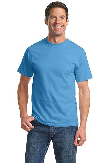 3f1f3afe Port & Company Men's Essential T-Shirt Aquatic Blue