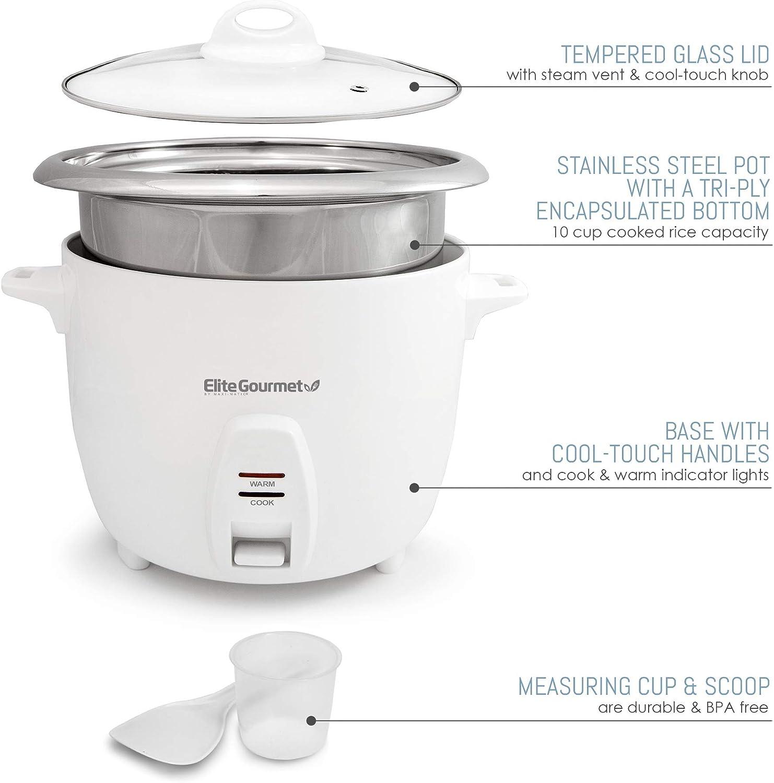 Elite Gourmet - rice cooker without teflon