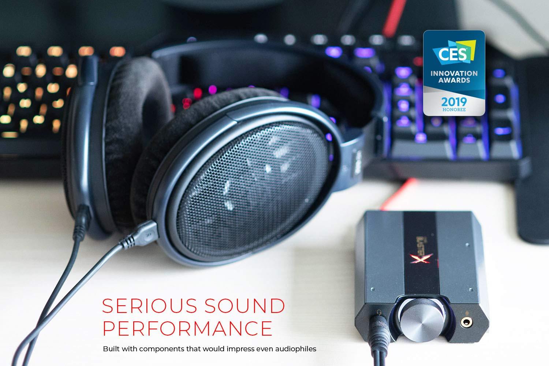 Creative Sound BlasterX G6 Hi-Res 130dB 32bit: Amazon in