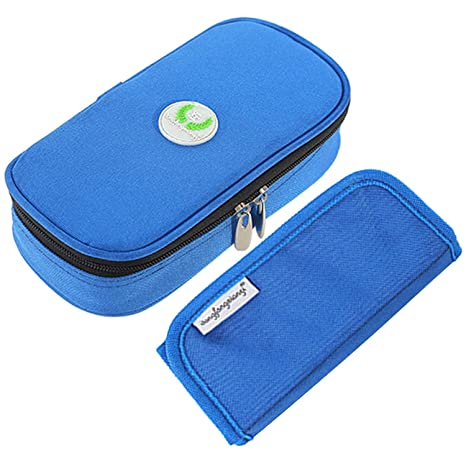 Camping-Küchenbedarf Insulin Kühler tragender Fall Taschen Organisator Diabetikertasche Diabetes Neu