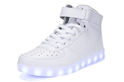 56358afa003 Image Unavailable. Image not available for. Colour: HoverKicks Light Up  Shoes Big Kids ...