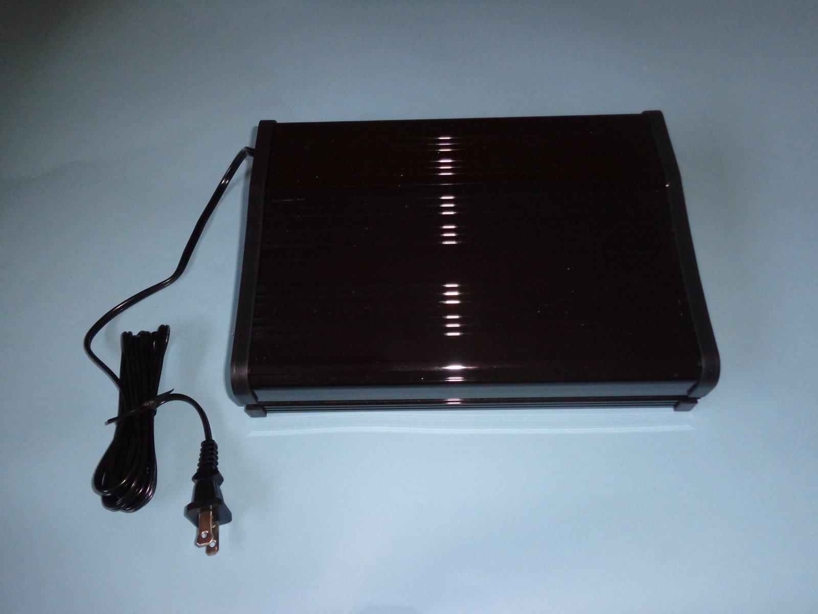 Catalina Aquarium 10 Inch Solar Power Compact Marine Aquarium Hood: 2White,1Blue Bulbs
