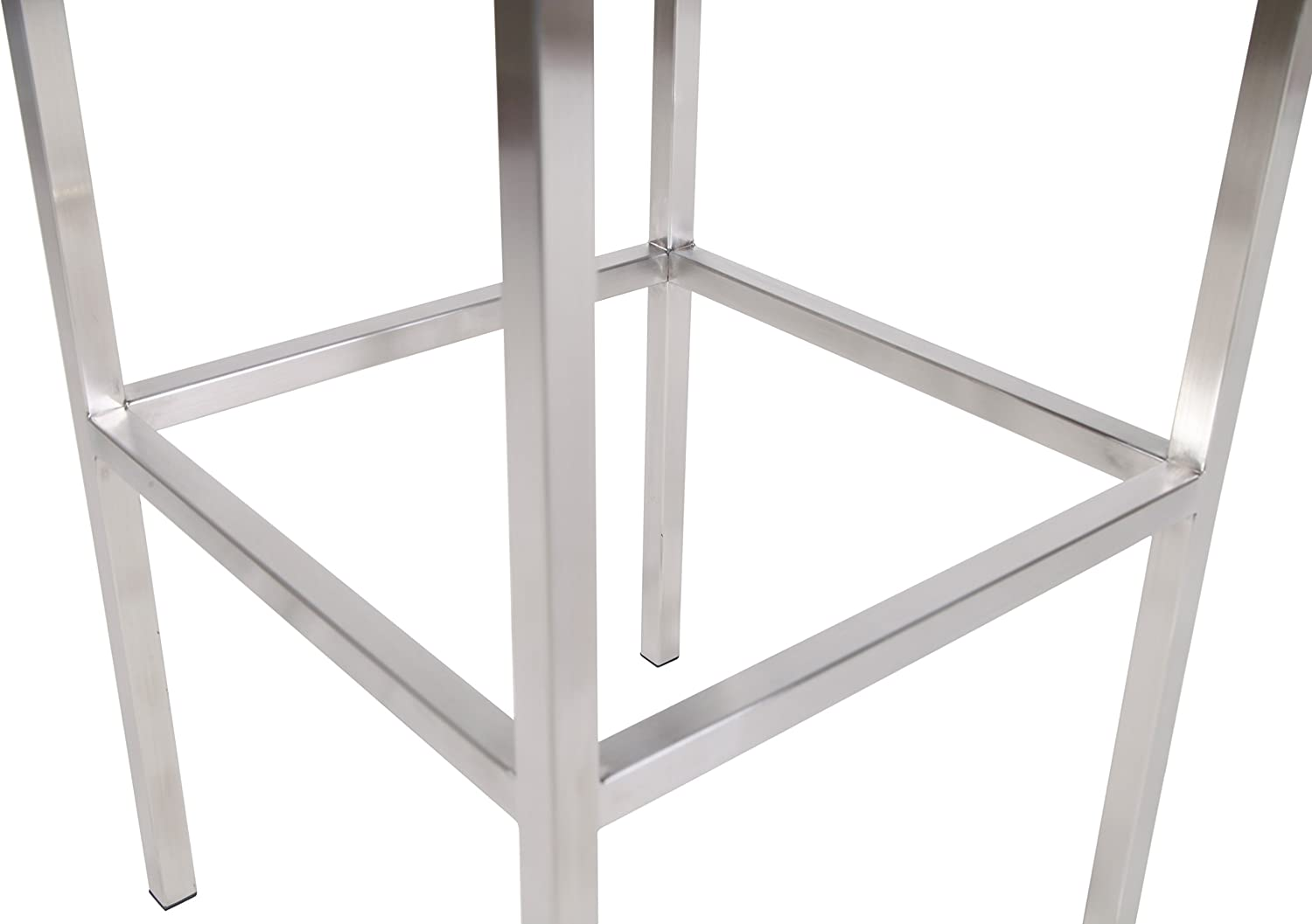 Amazon mlf sgabello cube leggero metal cube bar stool chair
