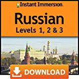 Instant Immersion Russian Levels 1, 2 & 3 [Online Code]