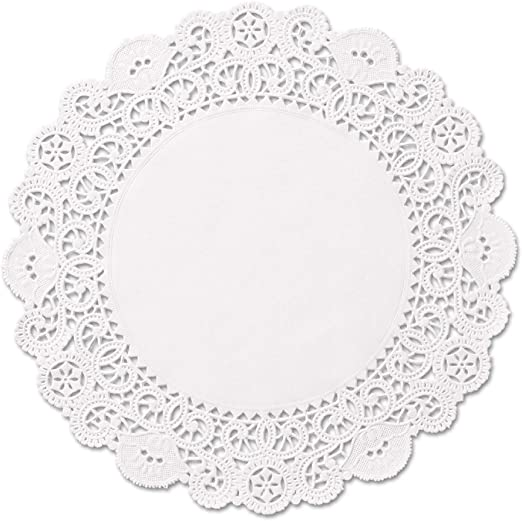 8 inch Cambridge Paper Lace Doilies Pack of 100
