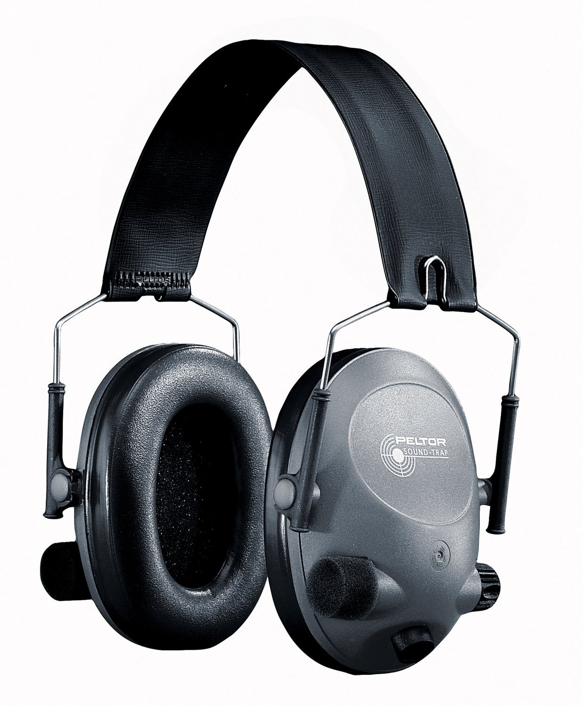 3M 7318640002531 PELTOR Sound Trap MT15H67FB-01 Headband Tactical 6-S Headset, Black