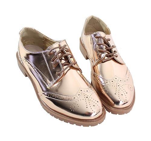 by Shoes - Zapatos de Cordones para Mujer: Amazon.es: Zapatos y complementos