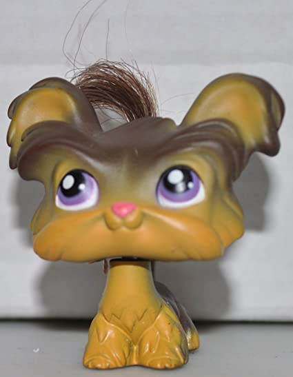 SHI TZU DOG #398 Authentic Littlest Pet Shop Hasbro LPS