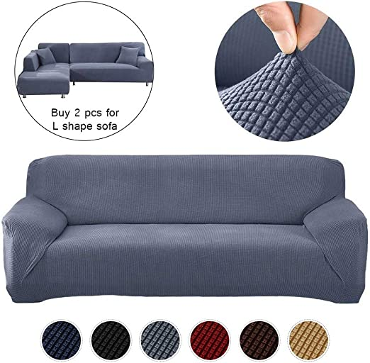 1-4 Sofa Couch Slipcover Stretch Covers Elastic Fabric Settee Protector Fit FT