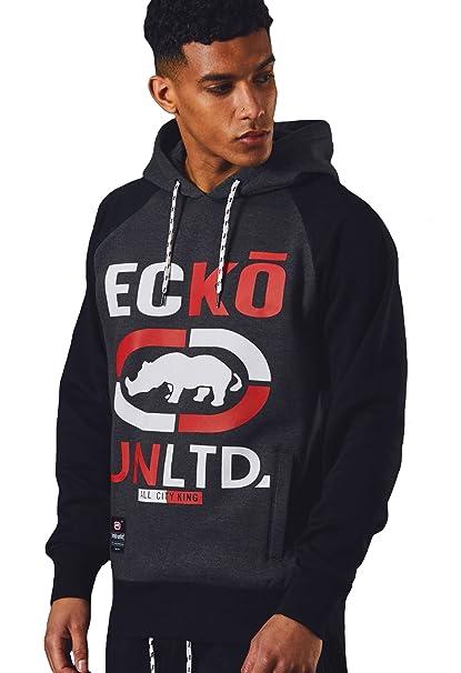 Ecko Hombres Lana Gráfico Camisa de Entrenamiento Casual Deportes Pista Parte Superior Gastos Generales Circuito: Amazon.es: Ropa y accesorios