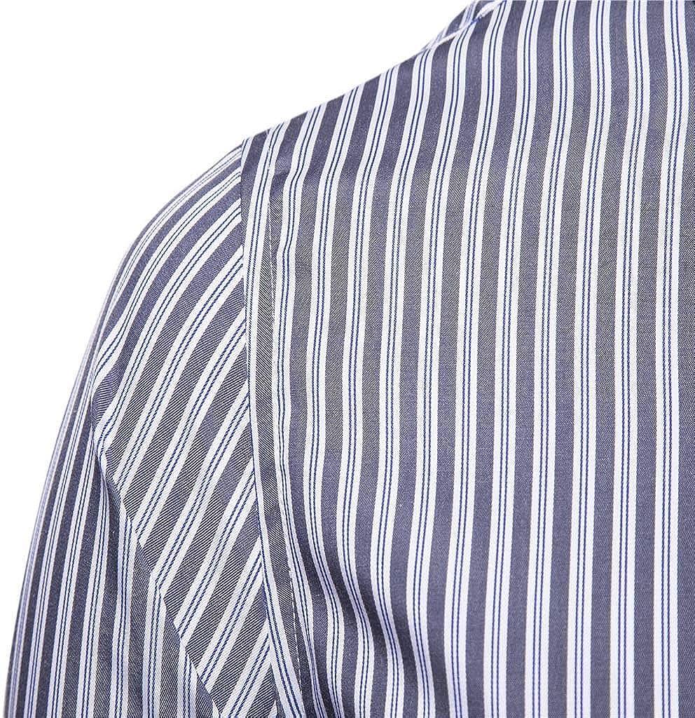 Heetey Camisa de Manga Larga para Hombre, Camisa a Cuadros de Manga Larga, Camisa para Traje Regional con Bordados a Cuadros: Amazon.es: Ropa y accesorios